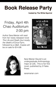 Book Release Flyer