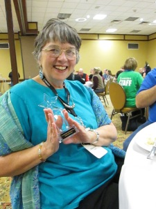 Marian Allen's award